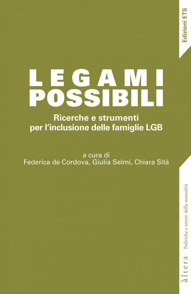 Legami possibili. Ricerche e strumenti per l'inclusione delle famiglie LGB