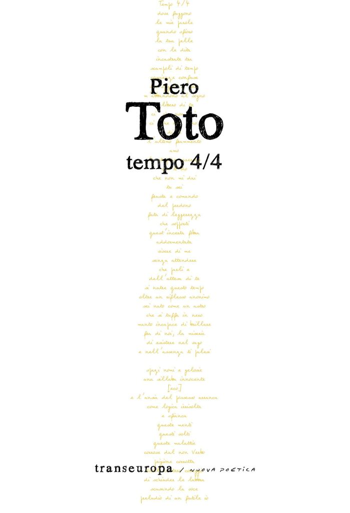 Tempo 4/4  Piero Toto
