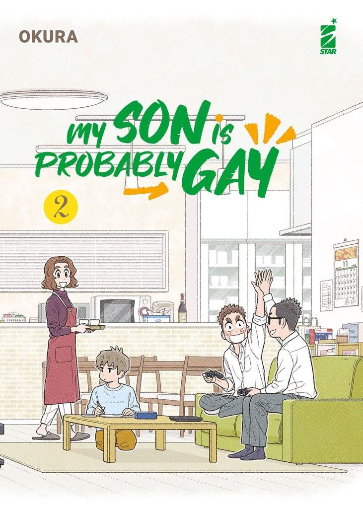 My son is probably gay. Vol. 2  Okura